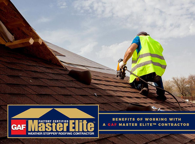 Benefits Of Working With A Gaf Master Elite Contractor