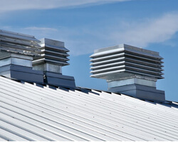 Commercial Metal Roof System